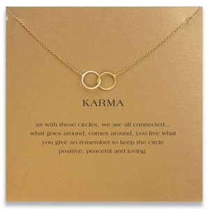 """Jewelry - Karma """"We Are All Connected"""" Necklace"""